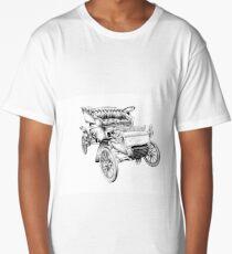 Old classic car retro vintage 06 Long T-Shirt