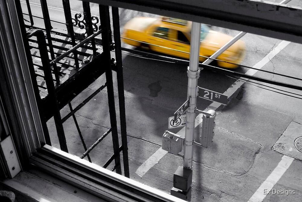 New York Taxi by Elmo X