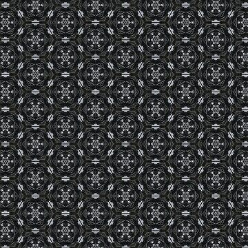 Gray geometric pattern by Mellyrose