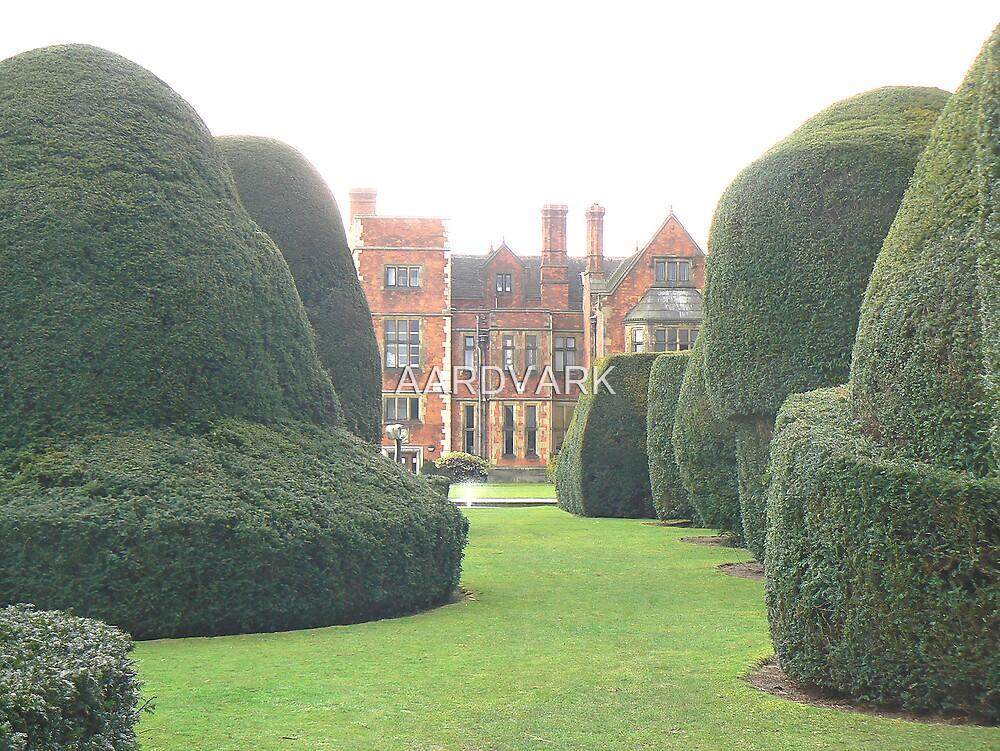 Heslington Hall From The Topiary Garden. by AARDVARK