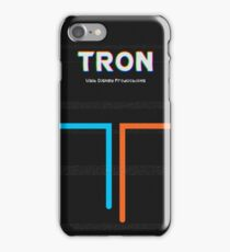 Tron Movie Poster iPhone Case/Skin