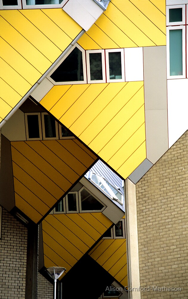 Rotterdam Cube Houses by Alison Cornford-Matheson