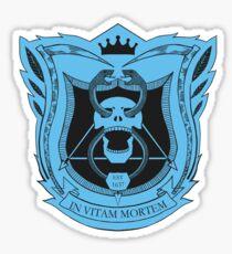 King's Dominion Crest - Blue Sticker