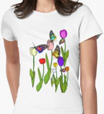 Garden of MAGIC Women's Fitted T-Shirt