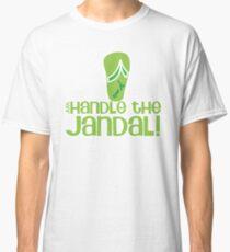 Just handle the jandal funny kiwi New Zealand saying Classic T-Shirt