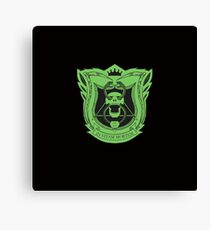 King's Dominion Crest - Green Canvas Print