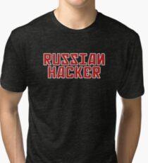 Russian Hacker Tri-blend T-Shirt