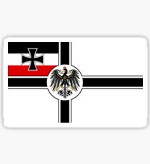 Prussia War Flag Sticker