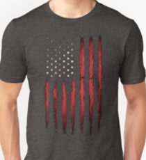 American Stars and stripes Vintage Unisex T-Shirt
