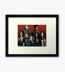 Gotham ladies Framed Print