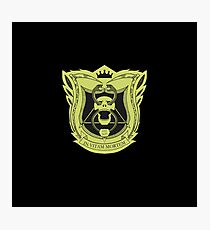 King's Dominion Crest - Yellow Photographic Print