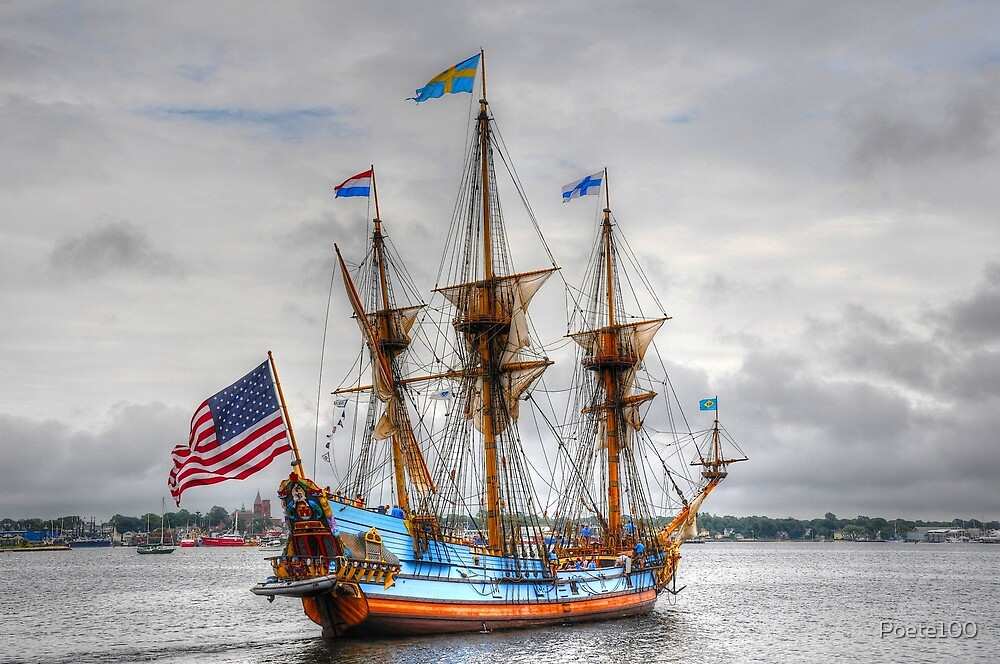 Kalmar Nyckel___The Tall Ship of Delaware by Poete100