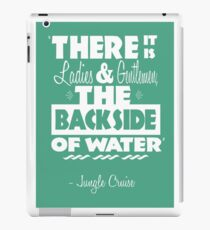 The Backside of Water iPad Case/Skin