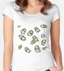 space chicks Women's Fitted Scoop T-Shirt