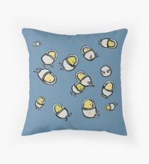 space chicks Throw Pillow