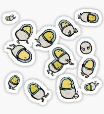 space chicks Sticker