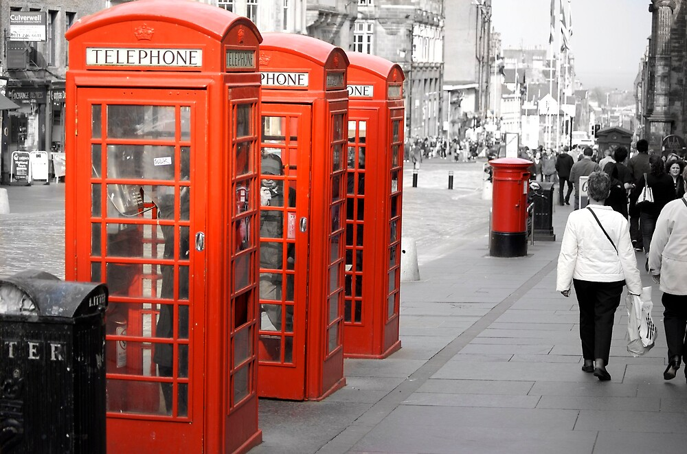 Phoneboxes by David Marshall