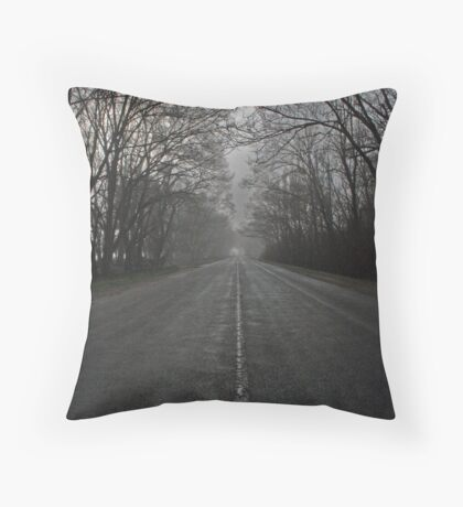 Road Ahead Throw Pillow