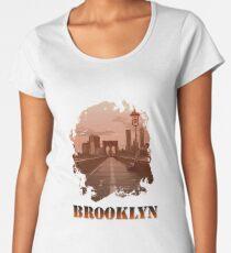 Brooklyn Bridge Women's Premium T-Shirt