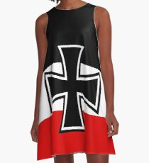German Empire Flag A-Line Dress