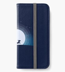 Doxie on the Moon iPhone Wallet/Case/Skin
