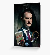 Mycroft Greeting Card