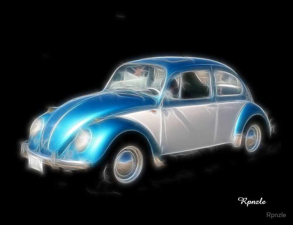 Blue Bug! by Rpnzle