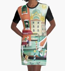 Venezia Graphic T-Shirt Dress