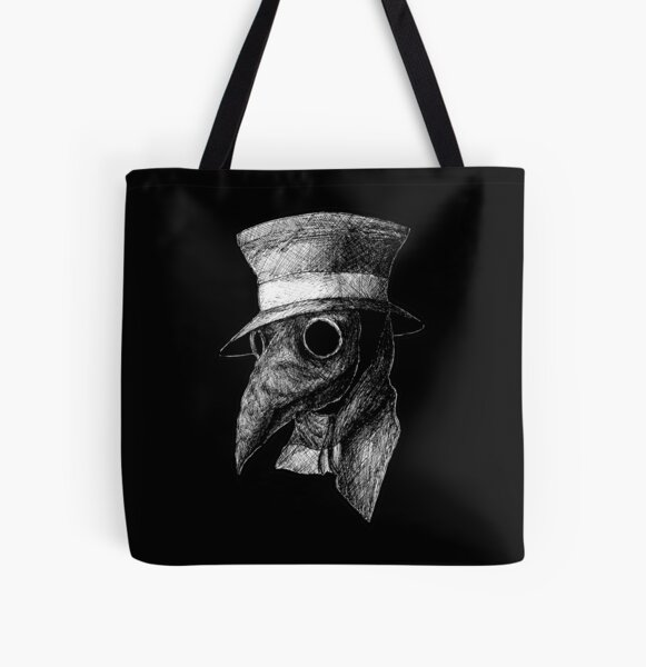 Plague Doctor All Over Print Tote Bag