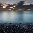 dawn, stonehaven beach by codaimages