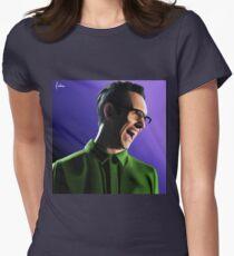 The Riddler - Edward Nygma Womens Fitted T-Shirt