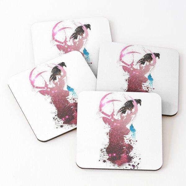 S p i r i t s Coasters (Set of 4)