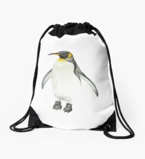 Penguin Drawstring Bag