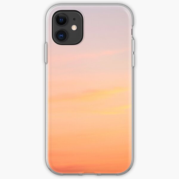 Sky on the Sunset iPhone Soft Case