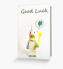 Unicorn luck! Greeting Card