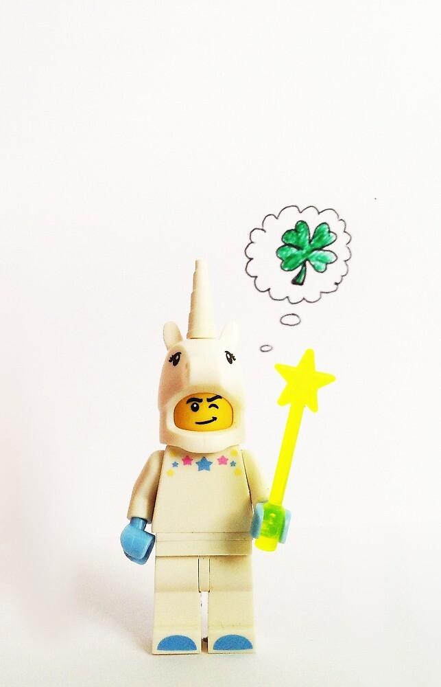 Lucky unicorn by newbs