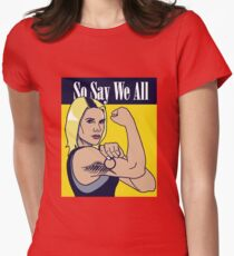 so say we all Women's Fitted T-Shirt