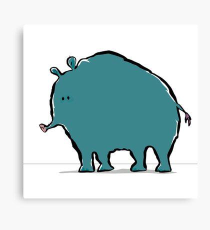 cryptotapirology: the woolly giant tapir Canvas Print