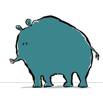 cryptotapirology: the woolly giant tapir by greendeer