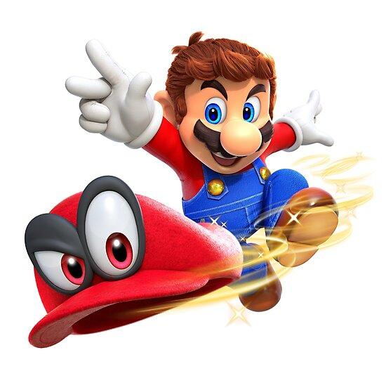 Super Mario Odyssey - Mario and Cappy by AngeliaLucis