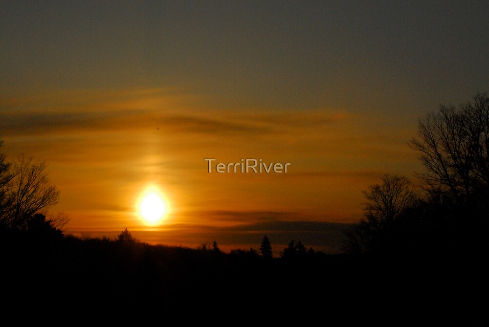 Combermere just afer the first light by TerriRiver