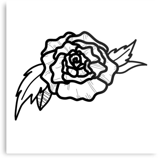 Rose Tattoo Design Neo Traditional By Lucy263