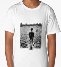 OASIS AT KNEBWORTH - posterized image. ICONIC Long T-Shirt