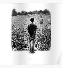 OASIS AT KNEBWORTH - posterized image. ICONIC Poster
