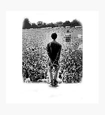 OASIS AT KNEBWORTH - posterized image. ICONIC Photographic Print