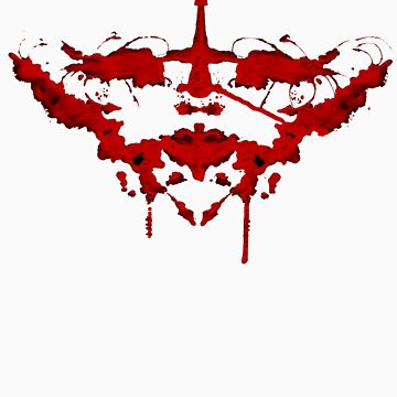 Rorschach - Red by ShupFace