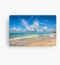 Manasota Key Blues Canvas Print