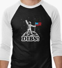 Astronaut Dibs on Moon America T-Shirt