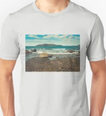 Autumn view of the bay Unisex T-Shirt