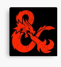 Dungeons&Dragons Canvas Print